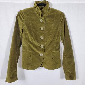 Fossil Velvet Button-Up Jacket•Size XS•NWOT